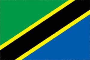 国旗 イラスト 無料|タンザニア連合共和国の国旗