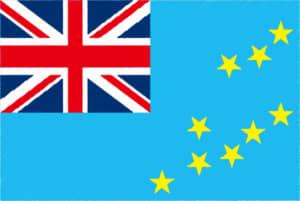 国旗 イラスト 無料|ツバルの国旗