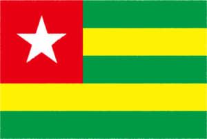 国旗 イラスト 無料|トーゴ共和国の国旗
