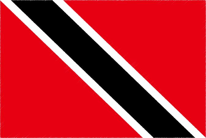 国旗 イラスト 無料|トリニダード・トバゴ共和国の国旗