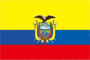 国旗 イラスト 無料|エクアドル共和国の国旗