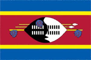 国旗 イラスト 無料|エスワティニ王国の国旗