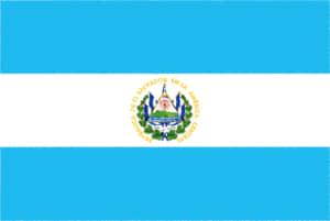 国旗 イラスト 無料|エルサルバドル共和国の国旗
