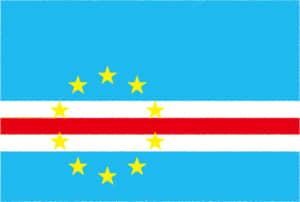国旗 イラスト 無料|カーボベルデ共和国の国旗