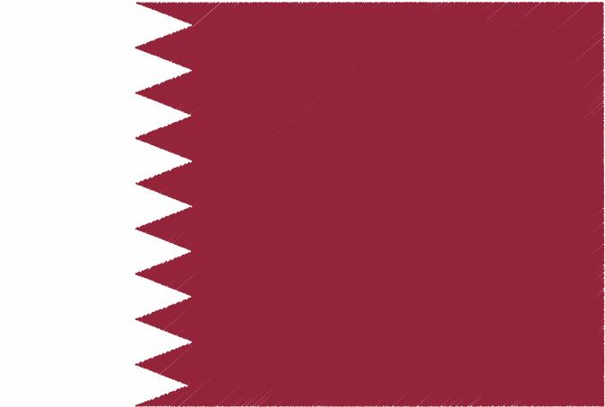 国旗 イラスト 無料|カタール国の国旗