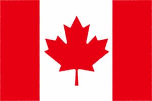 国旗 イラスト 無料|カナダの国旗