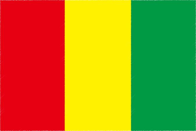 国旗 イラスト 無料|ギニア共和国の国旗