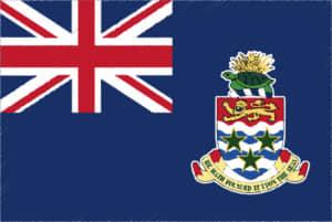 国旗 イラスト 無料|ケイマン諸島の国旗
