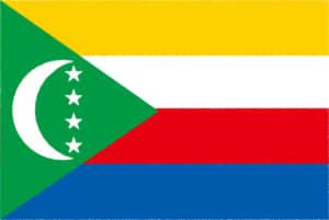 国旗 イラスト 無料|コモロ連合の国旗