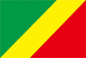 国旗 イラスト 無料|コンゴ共和国の国旗