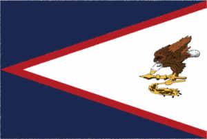 国旗 イラスト 無料|サモア諸島の国旗