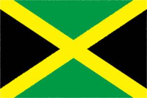 国旗 イラスト 無料|ジャマイカの国旗