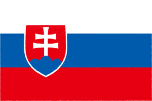 国旗 イラスト 無料|スロバキア共和国の国旗