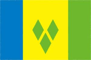 国旗 イラスト 無料|セントビンセント及びグレナディーン諸島の国旗