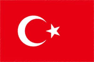 国旗 イラスト 無料|トルコ共和国の国旗