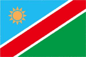 国旗 イラスト 無料|ナミビア共和国の国旗