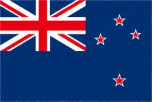 国旗 イラスト 無料|ニュージーランドの国旗