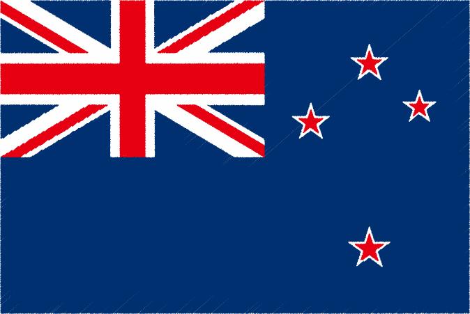 国旗 イラスト 無料 ニュージーランドの国旗