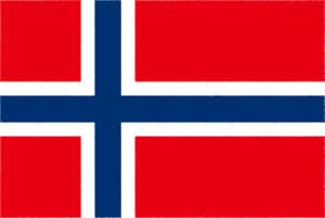 国旗 イラスト 無料|ノルウェー王国の国旗