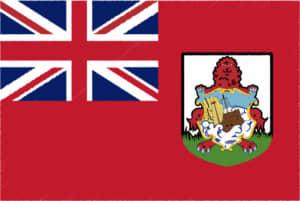 国旗 イラスト 無料|バミューダ諸島の国旗