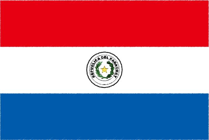 国旗 イラスト 無料 パラグアイ共和国の国旗