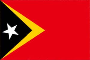 国旗 イラスト 無料|東ティモール民主共和国の国旗