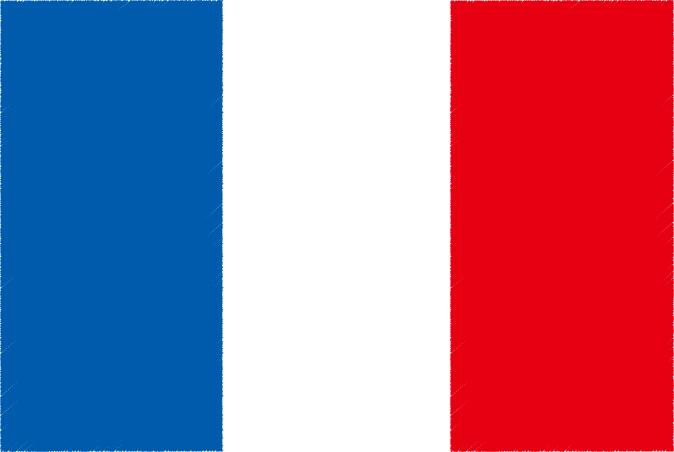 国旗 イラスト 無料|フランス共和国の国旗