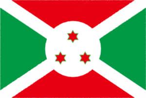 国旗 イラスト 無料|ブルンジ共和国の国旗