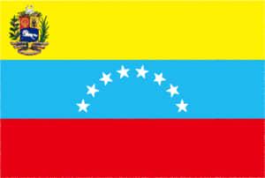 国旗 イラスト 無料|ベネズエラ・ボリバル共和国の国旗