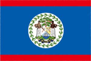 国旗 イラスト 無料|ベリーズの国旗