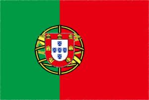 国旗 イラスト 無料|ポルトガル共和国の国旗