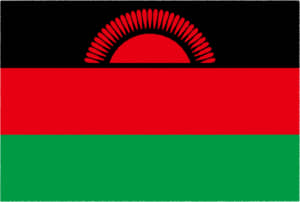 国旗 イラスト 無料|マラウイ共和国の国旗