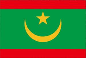 国旗 イラスト 無料|モーリタニア・イスラム共和国の国旗