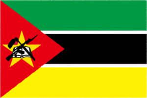 国旗 イラスト 無料|モザンビーク共和国の国旗