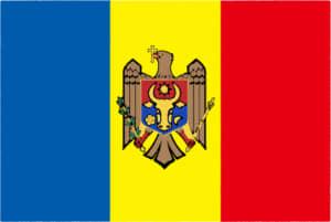 国旗 イラスト 無料|モルドバ共和国の国旗