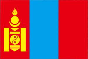 国旗 イラスト 無料|モンゴル国の国旗