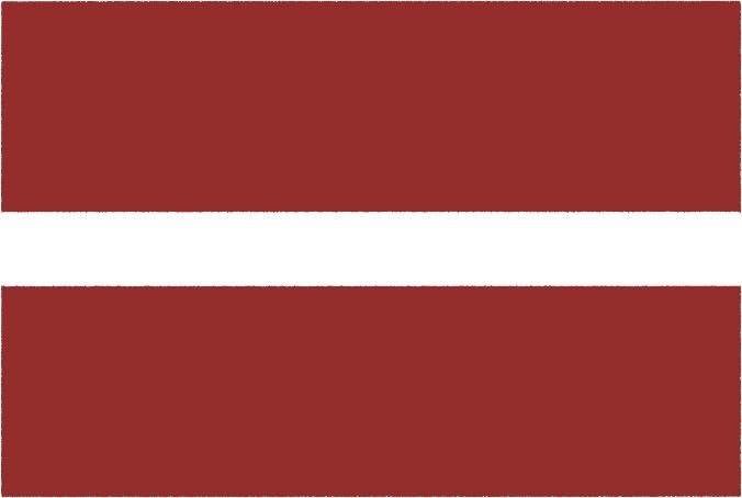 国旗 イラスト 無料|ラトビア共和国の国旗