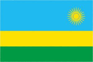 国旗 イラスト 無料|ルワンダ共和国の国旗
