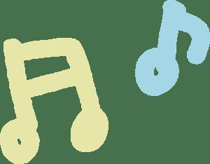 イースター イラスト 無料|手書きの音符