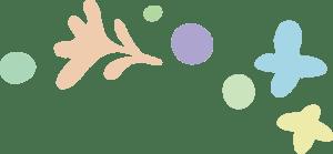 イースター イラスト 無料|手書きの花 飾り