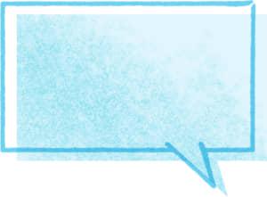 可愛いイラスト無料|吹き出し8 シンプル カラフル 線あり