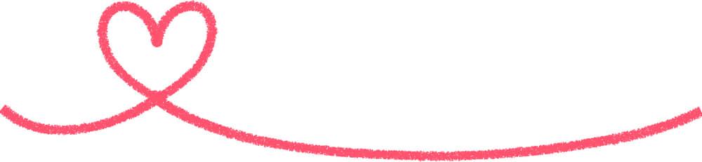 可愛いイラスト無料|手書き ハート 線7|【公式】イラスト素材サイト「イラストダウンロード」