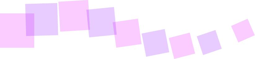 可愛いイラスト無料|罫線・ライン 四角のボーダー 紫色