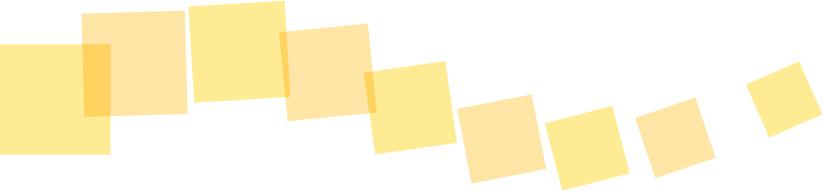 可愛いイラスト無料|罫線・ライン 四角のボーダー 黄色