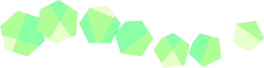 可愛いイラスト無料 罫線・ライン 宝石 緑色