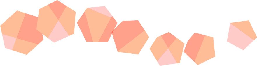 可愛いイラスト無料|罫線・ライン 宝石 赤色