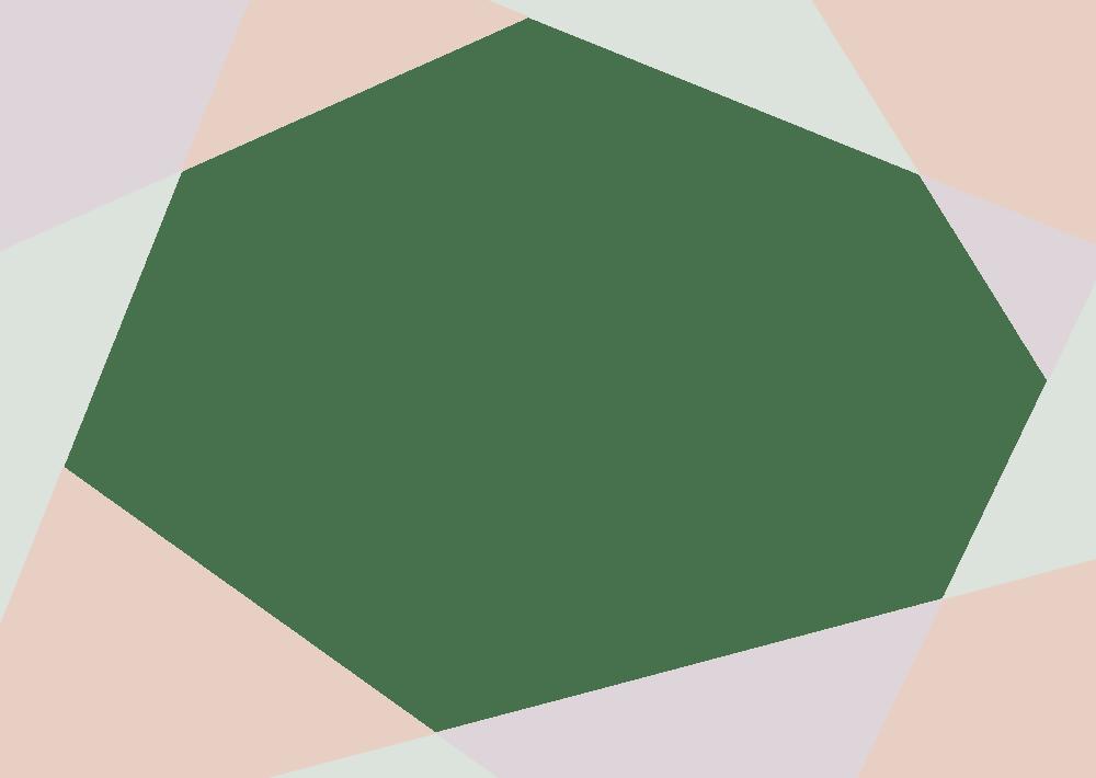 可愛いイラスト無料|背景 シンプル かわいい くすんだオレンジ・グリーン