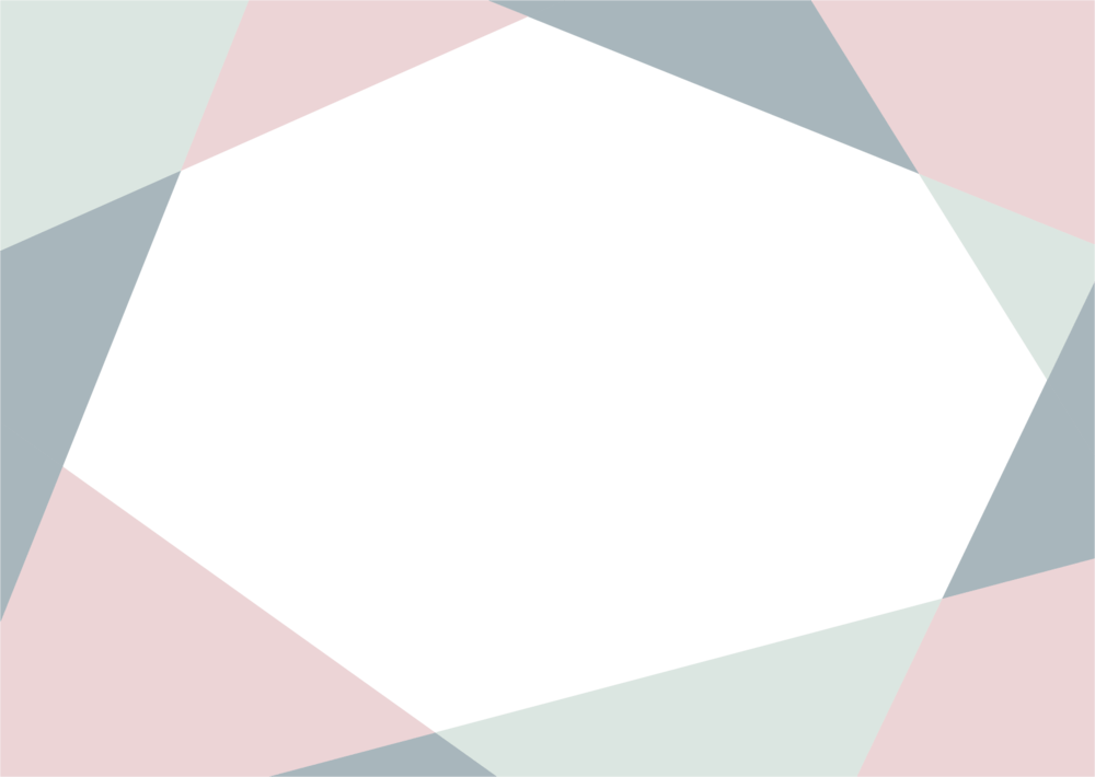 可愛いイラスト無料|背景 シンプル かわいい くすんだピンク・グリーン