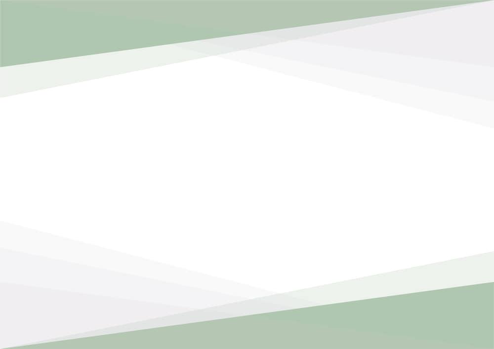 可愛いイラスト無料|シンプルな背景 三角グラデ 上下 緑色 あしらい
