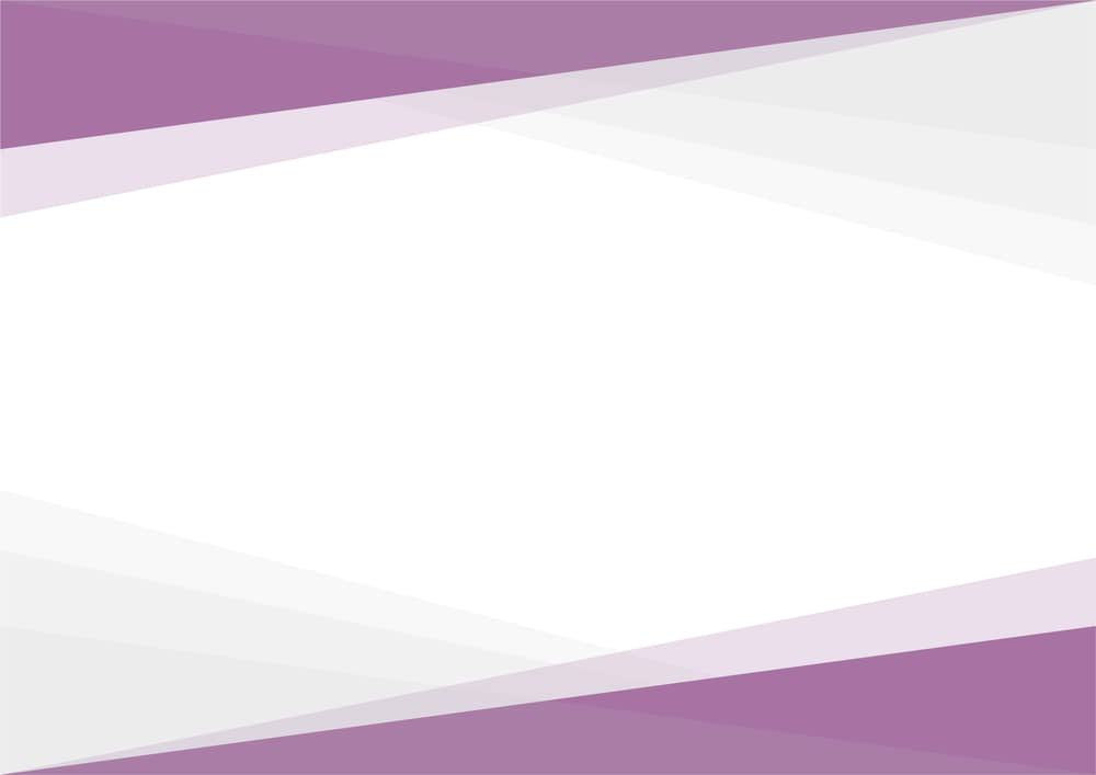 可愛いイラスト無料|シンプルな背景 三角グラデ 上下 紫色 あしらい